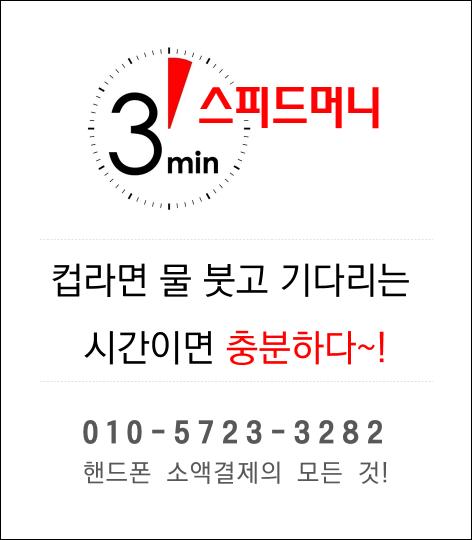 핸드폰소액결제 스피드머니2-1